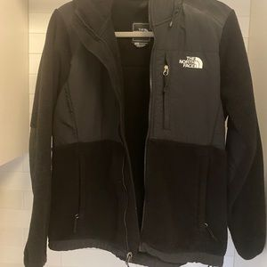 The North Face women's zip up fleece jacket sz M